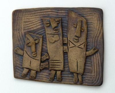 clay tile, 2011.